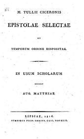 Epistolae selectae ac temporum ordine dispositiae