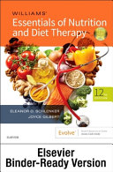 Williams  Essentials of Nutrition and Diet Therapy   Binder Ready PDF