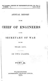 Annual Report of the Chief of Engineers to the Secretary of War for the Year ...: Volume 2