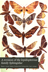 A Revision of the Lepidopterous Family Sphingidae: Volume 3