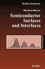 Semiconductor Surfaces and Interfaces PDF