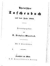Rheinisches Taschenbuch auf das Jahr ...: 1855