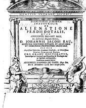 Disputatio Juridica Inauguralis. De Alienatione Praedii Dotalis