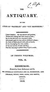 The Antiquary: Volume 2