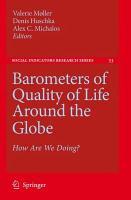 Barometers of Quality of Life Around the Globe PDF
