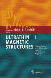 Ultrathin Magnetic Structures I PDF