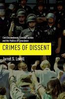 Crimes of Dissent PDF
