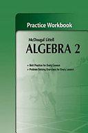 Algebra 2, Grades 9-12 Practice Workbook