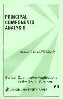 Principal Components Analysis PDF