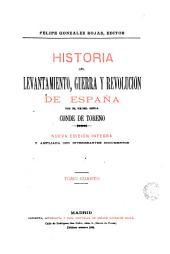 Historia del levantamiento, guerra y Revolución de España, 4: por Conde de Toreno
