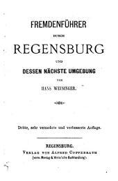 Fremdenführer durch Regensburg und dessen nächste Umgebung
