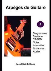 Arpèges de Guitare Vol. 4