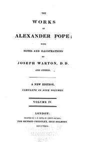 The Works of Alexander Pope: Volume 4