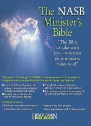 The Nasb Minister S Bible Black New American Standard Bible Book PDF