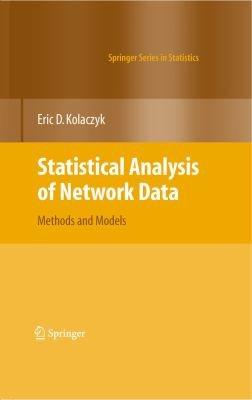 Statistical Analysis of Network Data PDF