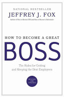How to Become a Great Boss PDF