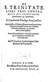De Sancta trinitate: libri III.