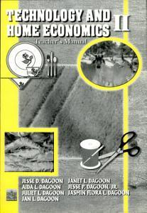 Technology and Home Economics Ii Tm  2001 Ed  PDF