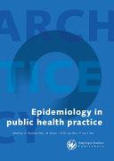 Epidemiology in Public Health Practice PDF