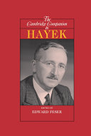 The Cambridge Companion to Hayek