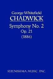 Symphony No.2, Op.21: Study score