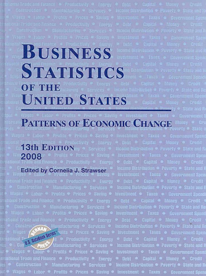 Business Statistics of the United States