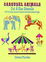 Carousel Animals Cut and Use Stencils