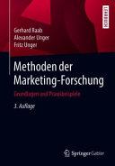 Methoden der Marketing Forschung PDF