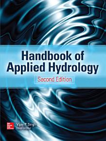 Handbook of Applied Hydrology  Second Edition PDF