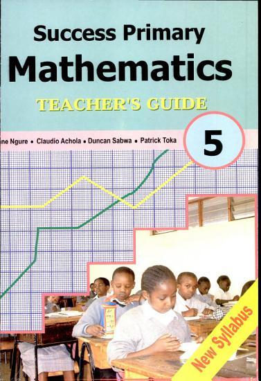 Success Primary Mathematics STD 5 PDF