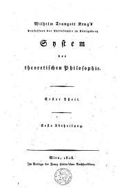 Denklehre oder Logik: Volume 1