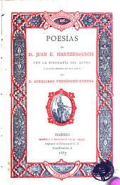 Poesías de D. Juan E. Hartzenbusch