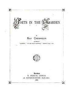 Poets in the Garden PDF