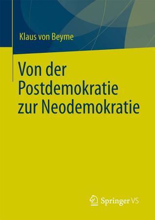 Von der Postdemokratie zur Neodemokratie PDF