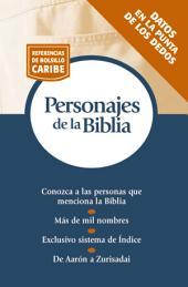 Personajes de la Biblia: Serie Referencias de bolsillo