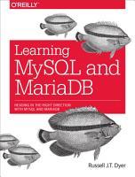 Learning MySQL and MariaDB PDF