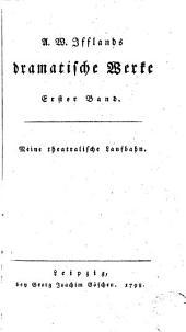 A. W. Ifflands dramatische werke: Band 10