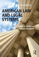 American Law and Legal Systems PDF