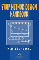 Strip Method Design Handbook PDF