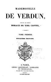 Mademoiselle de Verdun ...