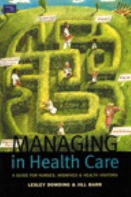Managing in Health Care PDF