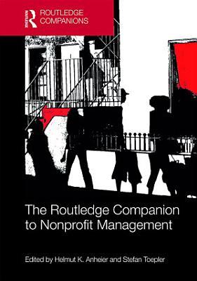 The Routledge Companion to Nonprofit Management PDF