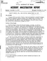 Braniff Airways, Inc., Near Hugoton, Kansas, March 26, 1952