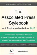 Download The Associated Press Stylebook 2013 Book