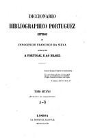 Diccionario bibliogr  phico portuguez PDF