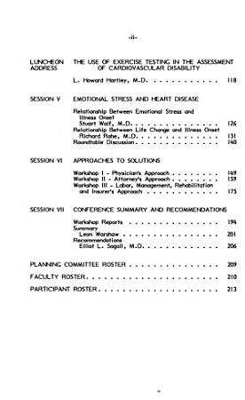 Proceedings of the Conference on Stress  Strain  Heart Disease   the Law PDF
