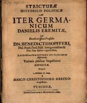 Stricturae historico-politicae ad iter Germanicum Danielis Eremitae