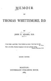 Memoir of Thomas Whittemore: Part 4