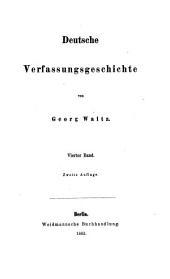 Deutsche Verfassungsgeschichte: Die Verfassung des fränkischen Reichs. Bd. 2 - Bd. 3 - Bd. 4