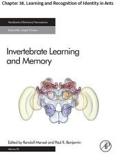 Invertebrate Learning and Memory: Chapter 38. Learning and Recognition of Identity in Ants